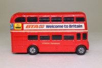 Corgi 1004; AEC Routemaster Bus; Beep Beep Bus, London Transport; Rt 11 Liverpool St; BTA Welcome to Britain