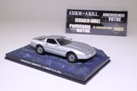 James Bond #37; Chevrolet Corvette; A View To A Kill