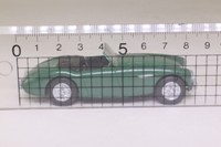Dinky by Matchbox: DY-30; Austin Healey 100 BN2; British Racing Green