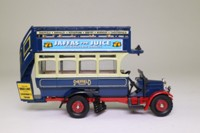 Corgi Classics 96991; Thornycroft J Type Bus; Sheffield Transport; Barnsley, Rotherham, Bawtry, Worksop, Chesterfield