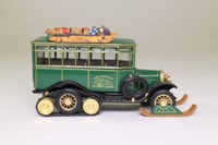 Matchbox Collectibles YY035/SB-M; 1922 Scania Vabis Bus; Half Track; Snow Mountain Inn