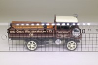 Matchbox Collectibles YAS11-M; 1917 Yorkshire Steam Wagon; Great Western Railway