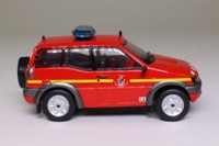 World Fire Engines Series #121; 2004 Nissan Terrano II Fire Command Car, France