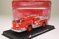 World Fire Engines Series #45; 1958 American LaFrance 900 Fire Engine, City of Denver