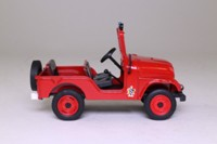 World Fire Engines Series #120; 1971 Jeep Willys M38 A1, M38 A1 Command Car