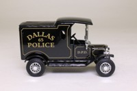 Matchbox Collectibles DYM38019; 1912 Ford Model T Van; Dallas Police Department