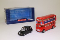 Corgi 60029; London Routemaster Bus & Taxi Set; The London Scene