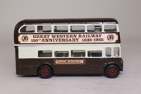 Corgi 469; AEC Routemaster Bus; Great Western Railway, 150 Years 1985