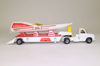 Matchbox Super Kings K-27/2; Ford Transporter and Racing Powerboat