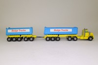 Matchbox King Size K-16/1; Dodge Truck with Twin Tippers