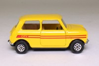 Corgi Classics 602; BL/Rover Mini; City, Yellow, Red Stripe