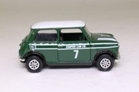 Corgi Classics 94141; BL/Rover Mini; Cooper; British Racing Green & White With Badge, RN7