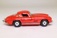 Corgi 802; 1956 Mercedes-Benz 300SL; Red, Opening Gull-Wing Doors & Bonnet
