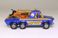 Matchbox SuperKings K-6/4; Motorcycle Transporter; Team Honda