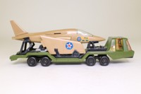 Matchbox King Size K-114/1; Military Aircraft Transporter; & Jet Fighter