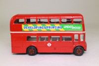 Corgi 469; AEC Routemaster Bus; London Transport; 19 Piccadilly Circus; Underwood Developing & Printing