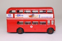 Corgi 469; AEC Routemaster Bus; London Transport, Colt 45 Touchdown Lager