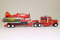 Matchbox SuperKings K-112/2; Peterbilt Fire Spotter Plane Transporter; Patrol Unit 23