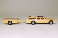 Matchbox King Size K-68/1; Dodge Monaco and Trailer