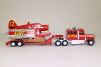 Matchbox SuperKings K-134/1; Peterbilt Fire Spotter Plane Transporter