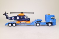 Matchbox King Size K-126/1; DAF Helicopter Transporter