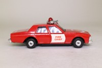 Corgi C1008; 1976 Chevrolet Caprice; Fire Chief, Working Light & Siren