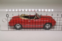 Dinky by Matchbox DY035/A; 1968 VW Karmann-Ghia Convertible; Open Top, Red