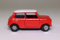 Corgi Classics C330/4; BL/Rover Mini; Flame; Mini 30 - Red/White