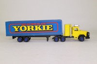 Corgi Small Scale C1002; Leyland Landtrain Articulated Truck; Box Trailer, Yorkie