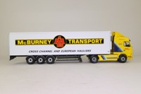 Corgi Classics CC12409; Volvo FH Artic; Globetrotter, Fridge Trailer, McBurney Transport