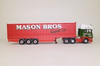 Corgi Classics CC13701; Scania Topline; Curtainside Trailer, Mason Bros Transport Ltd