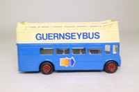 Corgi Classics Code 3; AEC Routemaster Bus; Open Top; Guernsey Bus: Town, St Sampson's, Peinmont, via Vazon Bay