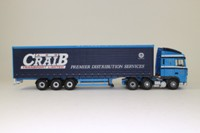 Corgi Classics CC13228; DAF XF Space Cab; Curtainside Trailer, ARR Craib Transport Ltd