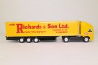 Corgi Classics TY86803; ERF EC 1:64 Scale; Artic Curtainside Trailer, Jack Richards & Sons