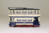 Corgi Classics 36706; Double Deck Tram, Closed Top, Closed Platform; Sheffield Corporation; Crookes via Queens Rd