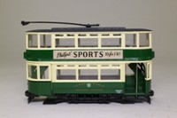 Corgi Classics CC25203; Double Deck Tram, Closed Top, Closed Platform; Liverpool Corporation; 13 Lower lane