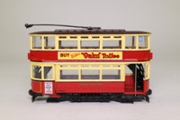 Corgi Classics 36708; Double Deck Tram, Closed Top, Closed Platform; London Transport; Ilford Broadway