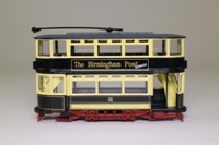 Corgi Classics 36711; Double Deck Tram, Closed Top, Closed Platform; Birmingham Corporation, No.32 Lodge Rd