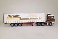 Corgi Classics CC13221; DAF XF Space Cab; Curtainside Trailer, Parsons Distribution