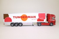 Corgi Classics CC12902; Scania Topline; Fridge Trailer, Tunderman Transport