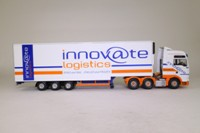 Corgi Classics CC13414; MAN TGA XXL; Step Frame Fridge Trailer: Innovate Logistics