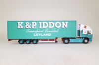 Corgi Classics CC11912; ERF EC Artic; Step Frame Curtainside: K&P lddon Transport Ltd, Leyland