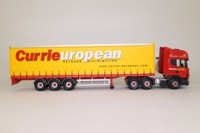 Corgi Classics CC12903; Scania Topline; Curtainside Trailer, Currie European