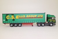 Corgi Classics CC13703; Scania R Cab High Roof, Curtainside, CS Ellis Group Ltd