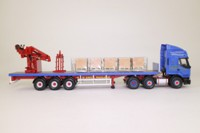 Corgi Classics CC12109; Renault Premium Artic (1:50); Crane Trailer & Palletised Load, RT Keedwell Ltd