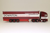 Corgi Classics CC13211; DAF XF Space Cab; Curtainside Trailer, Downton Distribution Services