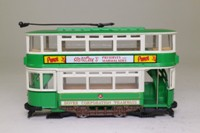 Corgi Classics 98154; Double Deck Tram, Closed Top, Closed Platform; Dover Corporation; Maxton, Hartley's Preserves