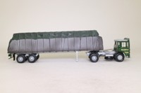 Corgi Classics CC10301; AEC Ergomatic Cab; Artic Flatbed Trailer, Wilmott's Transport Ltd, Sheeted Load,