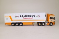 Corgi Classics CC12908; Scania Topline; Fridge Trailer, LE Jones Ltd, International