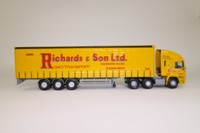 Corgi Classics 75204; ERF EC Artic; Curtainside: Richards & Son Ltd